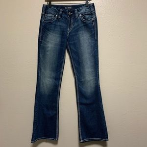 Women's Silver Suki surplus boot cut denim jeans